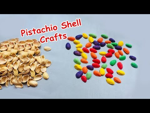 Pistachio Shell Craft | Recycled Pista Shells | DIY Home Decor Ideas