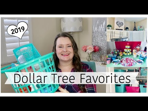 NEW! Dollar Tree Favorites 💗 Cleaning, Home Decor , DIY, and Organization 2019