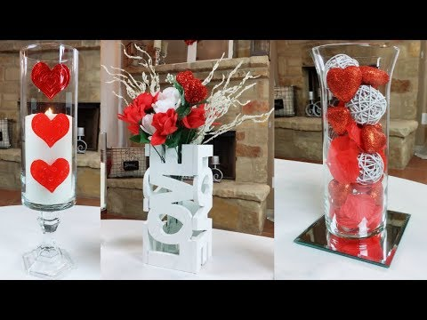 DIY Dollar Tree Simple Valentine's Day Home Decor Ideas