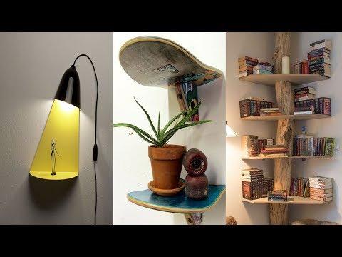 35 Creative Wall Shelves Ideas 2019 – DIY Home Decor