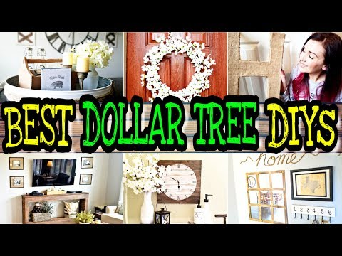 My Top 10 Dollar Tree DIYs / DIY Farmhouse & Rustic Decor