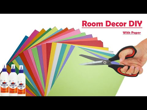 Room Decor DIY With Paper || Paper Craft For Home Decor || Paper Hanging Decoration