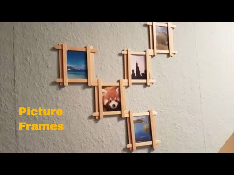 DIY PICTURE FRAMES FOR HOME DECOR || WALL DECOR IDEAS