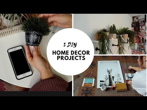 DIY HOME DECOR l Boho on a Budget