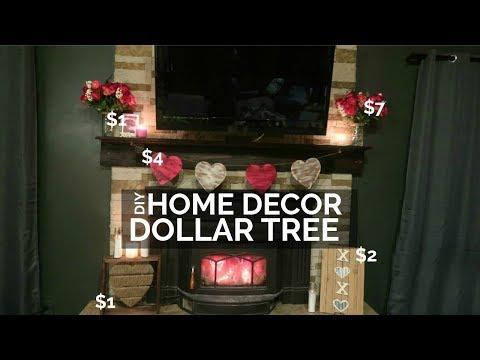 DIY DOLLAR TREE DECOR – VALENTINES DAY HOME DECOR 2019