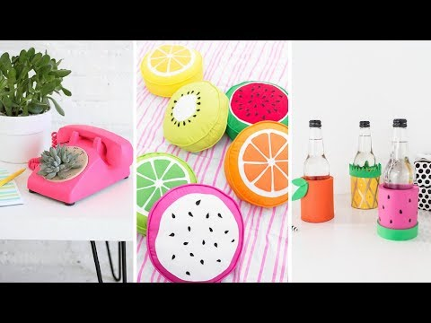 Wall Decor, Home Decor and MORE! 18 DIY Room Decor Ideas That Will Inspire You!