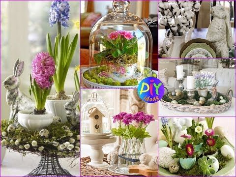 30+ Beautiful Spring Centerpieces and Vignettes Ideas – DIY Home Decor