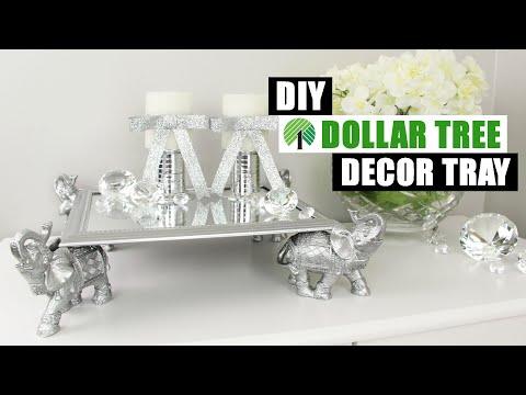 DIY DOLLAR TREE DECOR TRAY | DIY Glam Home Decor
