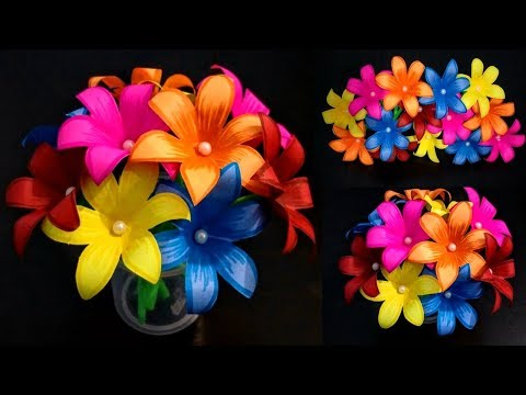 DIY: Home Decoration Idea/How to Make Beautiful Paper Flower Bouquet