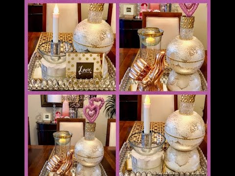 3 DIY Dollar Tree Home Decor Glam Fab Ideas Quick Easy Inexpensive Creating Elegance For Less 2019