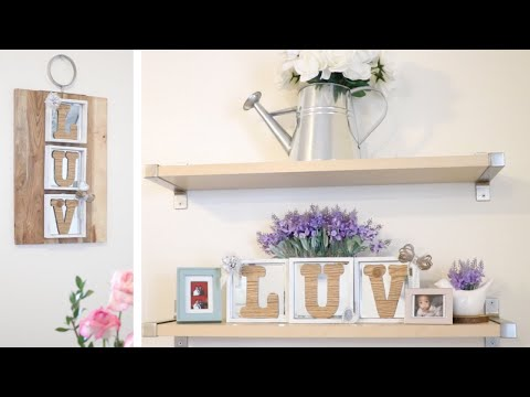 DOLLAR TREE FARMHOUSE DIY DÉCOR ON A BUDGET! FEBRUARY 26 2019