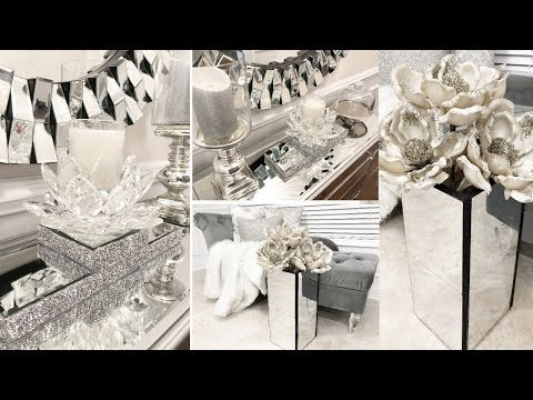 Dollar Tree DIY Glam Home Decor Ideas | DIY Mirror Decor
