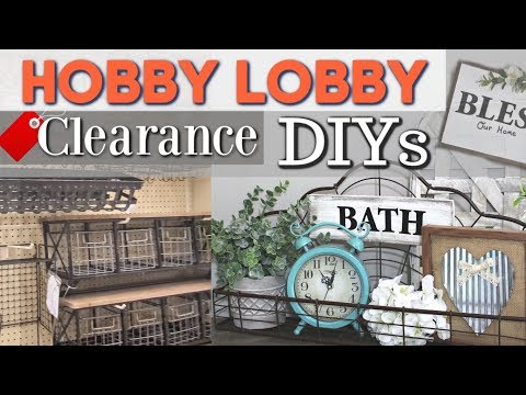 DIY Farmhouse Home Decor | Hobby Lobby DIY Decor Ideas | Krafts by Katelyn