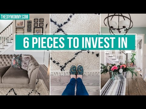 6 HOME DECOR BASICS TO INVEST IN | Simple Decorating Tips