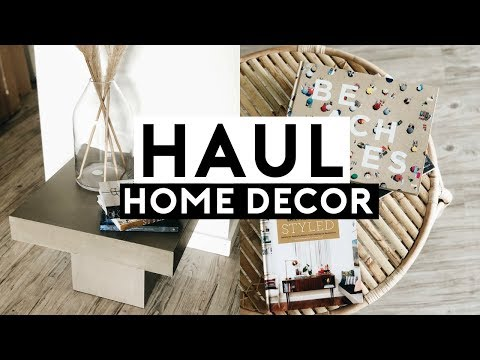 NEW APARTMENT DECOR HAUL! BUDGET FRIENDLY HOME DECOR 2019