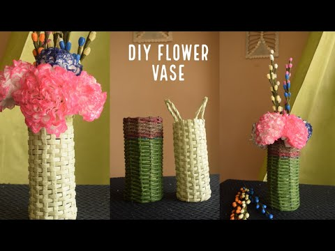 Diy  Flower Vase | diy craft ideas | best out of waste | home decor ideas | parul pawar