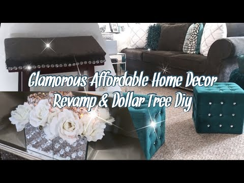 New! Glamorous Affordable Home Decor Facelift(revamp) & Dollar Tree Diy -Series 5