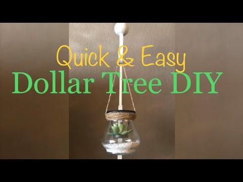 Dollar Tree DIY – Quick & Easy  Home Decor