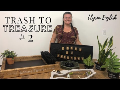 Trash To Treasure #2  | Up-cycle Projects | DIY Home Decor | Dump Diving | Trash to Cash  | Zero $