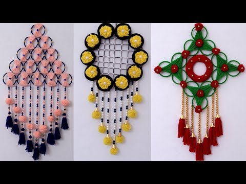 5 Creative Ideas !!! Wall Hanging Idea – Best Home Decor Idea!! DIY ROOM DECOR 2019 || DIY Projects