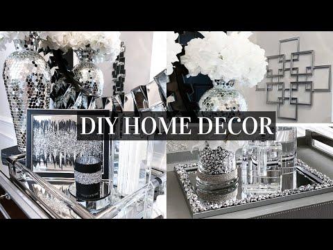 DIY DOLLAR TREE Mirror Home Decor | Decorating Ideas On A BUDGET!