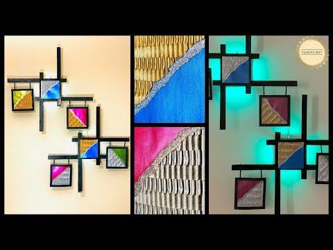 Amazing Home Decorating Idea| GADAC Creator Of The Week| gadac diy| Wall Decoration Idea| diy crafts