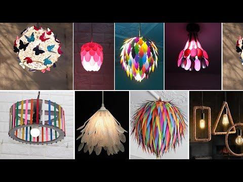 Home decorating ideas handmade | Hanging lamp decoration ideas
