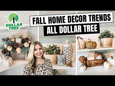 Fall 2020 DOLLAR TREE DIY 🍂 HOME DECOR TRENDS