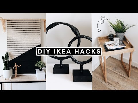 DIY IKEA HACKS – Minimal Home Decor + Furniture Hacks for 2020