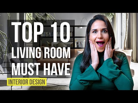 Top 10 Interior Design Ideas and Home Decor for Living Room