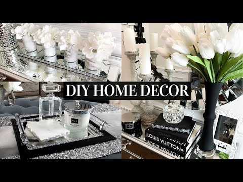 DIY DOLLAR TREE Home Decor | Decorating Ideas On A BUDGET!