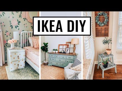 DIY IKEA Hacks 2020 – Easy and Affordable Home Decor – Farmhouse Decorating Ideas