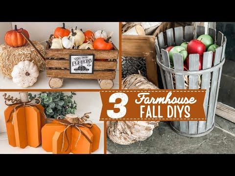🍁 Fall Dollar Tree DIY Home Decor 🍁