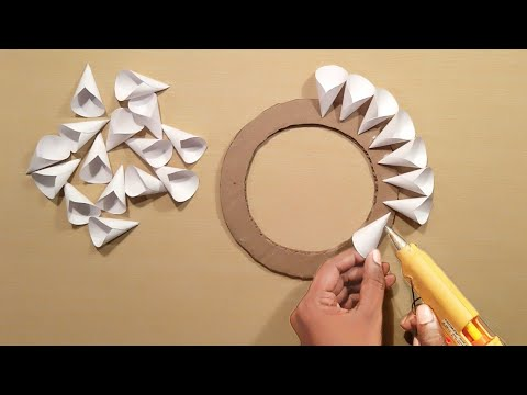 Easy Home Decoration Ideas – Wall Hanging Crofts – Paper Crafts – Home Decoration – Handmade