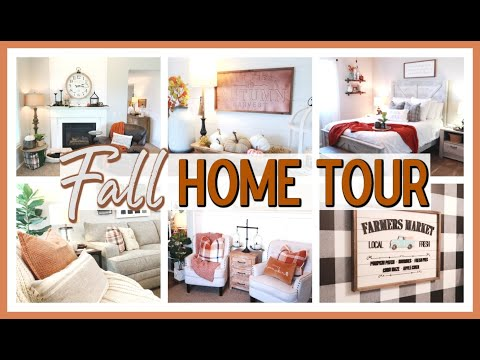 FALL HOME TOUR 2020 | FARMHOUSE FALL DECORATING IDEAS