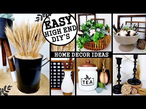 DIY HOME DECOR IDEAS | INEXPENSIVE DIY's 2020 | Anthropologie Inspired