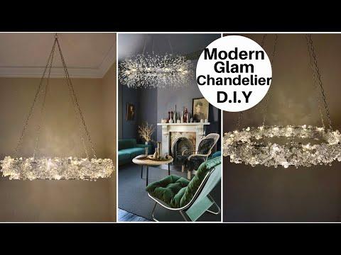 D.I.Y. Home Decorating Ideas~LED Crystal Firework Chandelier