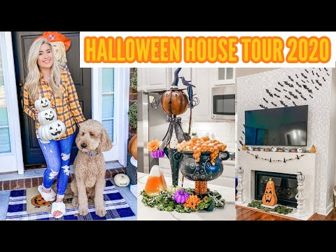 🎃 HALLOWEEN HOUSE TOUR 2020 | HALLOWEEN DECORATE WITH ME | HALLOWEEN DECOR IDEAS | Love Meg