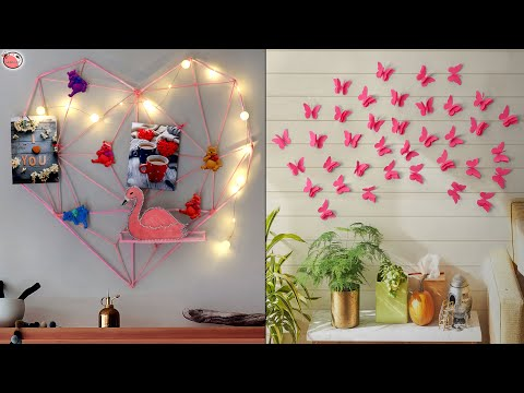 Best!!.. 10 DiY Room Decor || DIY PAPER WALL DECOR Projects