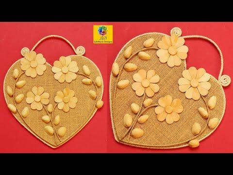 Jute craft idea | Home decorating ideas handmade | Jute Art and Craft Decoration Design