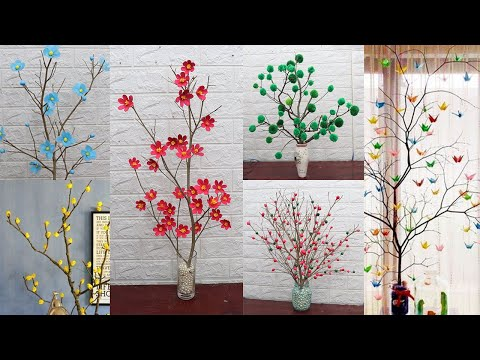 10 Tree branches decoration ideas| Home Decorating ideas handmade easy