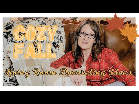 COZY FALL LIVING ROOM DECORATING IDEAS /NEUTRAL FALL HOME DECOR 2020/CLEAN DECORATE AND COOK WITH ME