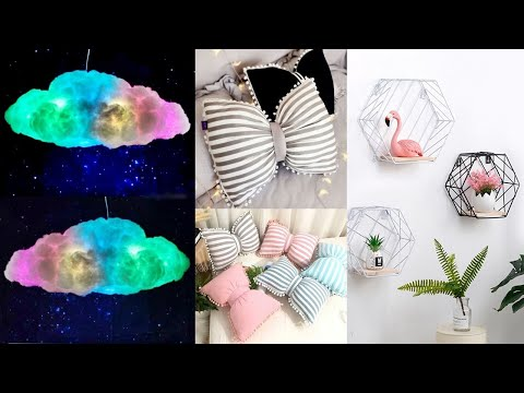DIY AMAZING ROOM DECOR IDEAS – ROOM DECORATING IDEAS FOR GIRLS – HOME DECOR HACKS by GIRL CRAFTS