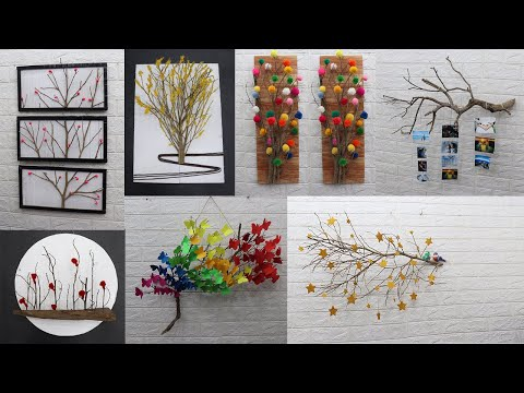 Home decorating ideas handmade easy | Tree branches decoration ideas