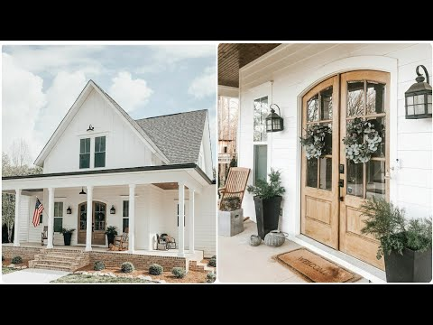 NEW Farmhouse Home Tour // Farmhouse Home Inspiration // Decorating Ideas
