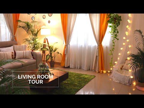 Indian Living Room Tour||Living room decorating ideas||Living room makeover||Backyard Gardening