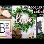 NEW* DOLLAR TREE VALENTINES DAY DIY'S | AMAZING $1 HIGH END Home Decor On a BUDGET 2021