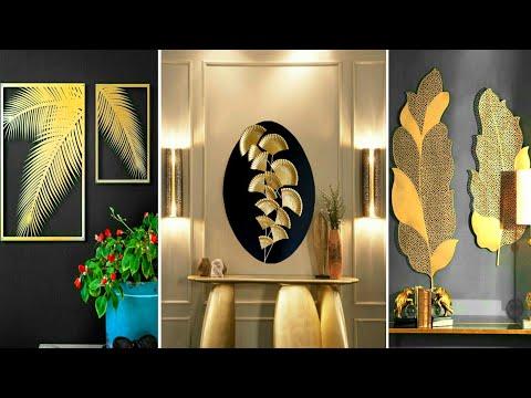 DIY leaf home decorating ideas | fall wall art | art and craft | Diy craft | Craft Angel