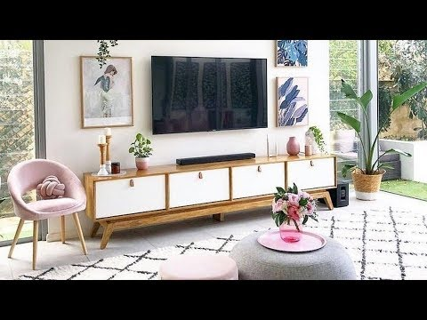 Modern TV unit  : Interior Design TV Stand : Home Decorating Ideas 2021