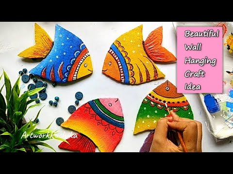 ✨ Wall hanging craft / Easy DIY Craft for home décor / Beautiful craft ideas for home
